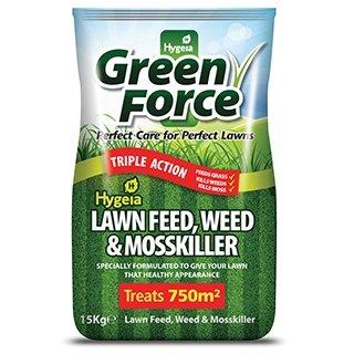 Hygeia Lawn Feed, Weed & Moss Killer