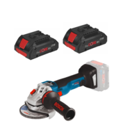 Bosch GWS18V-10SC 18V 41/2'' 115mm Brushless Angle Grinder 9000rpm 2.0kg C/W 2 4.0AH Procore Batteries & Charger in L BOX (Ploughing Special Discount Price)