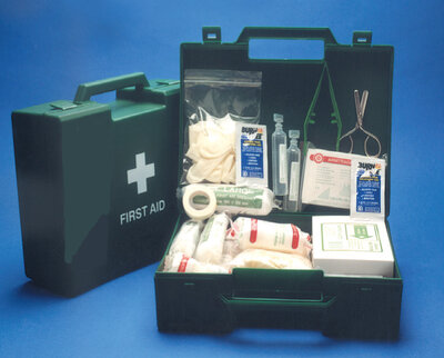 First Aid Kit Plus: Large (6-25 Persons)