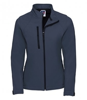 J140F Ladies Navy Elite Softshell Jacket