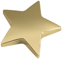 9cm Star Paper Weight (Gold)