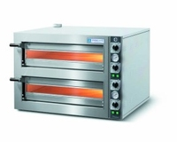 Pizza Oven Twin Deck 902x764x690mm 9.2kw