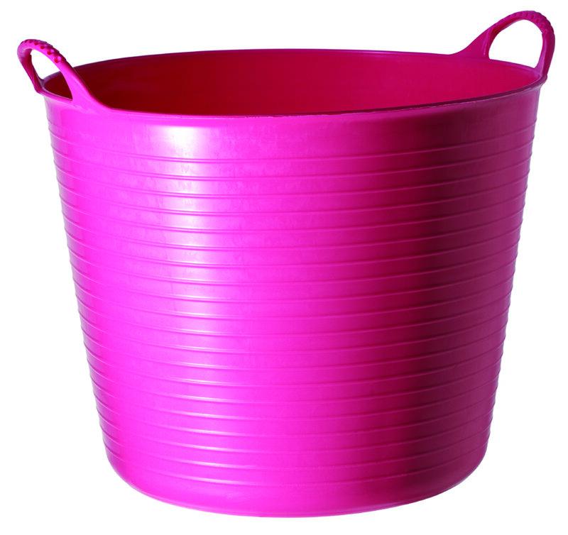 Red Gorilla Tub Pink Small 14L