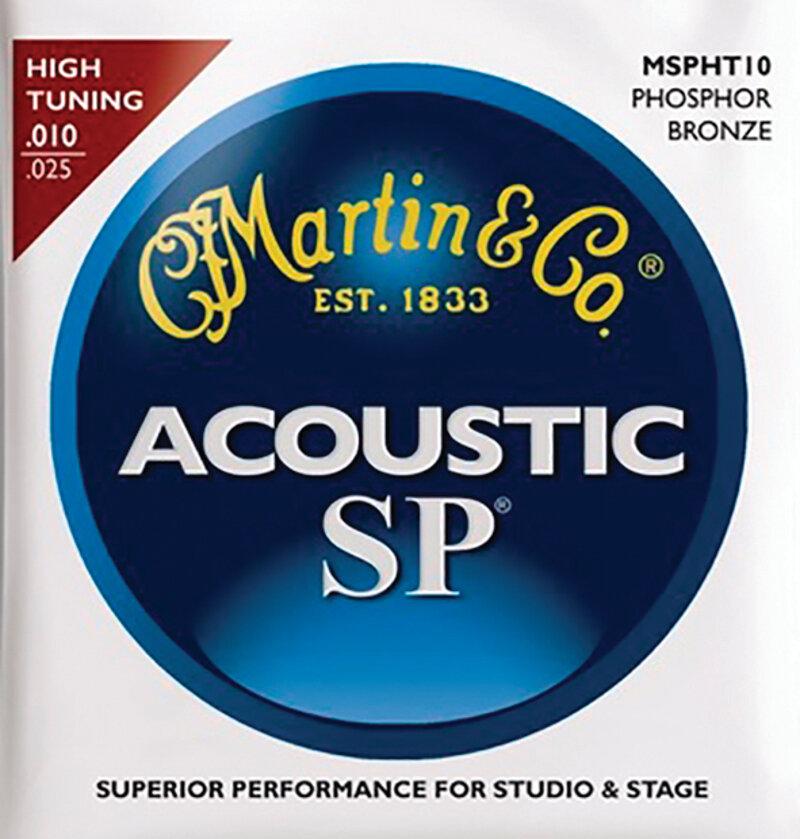 Martin guitar string set SP series high tuning