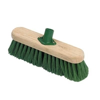 24P 12 GREEN POLY BRUSH & SOCKET