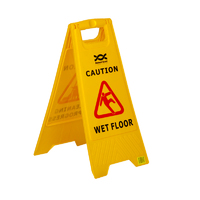 'Wet Floor' Warning Sign