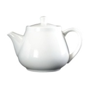 Royal Genware Fine China Teapot White 45cl 16oz Carton of 6