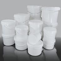 Plastic Buckets. Tamper Evident
