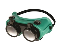 Flip-Up Gas Welding Goggles 50mm  Lens Shade 5