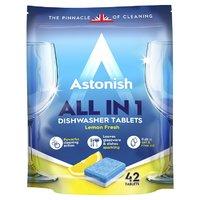 Astonish Dishwasher Tablets 42 pk