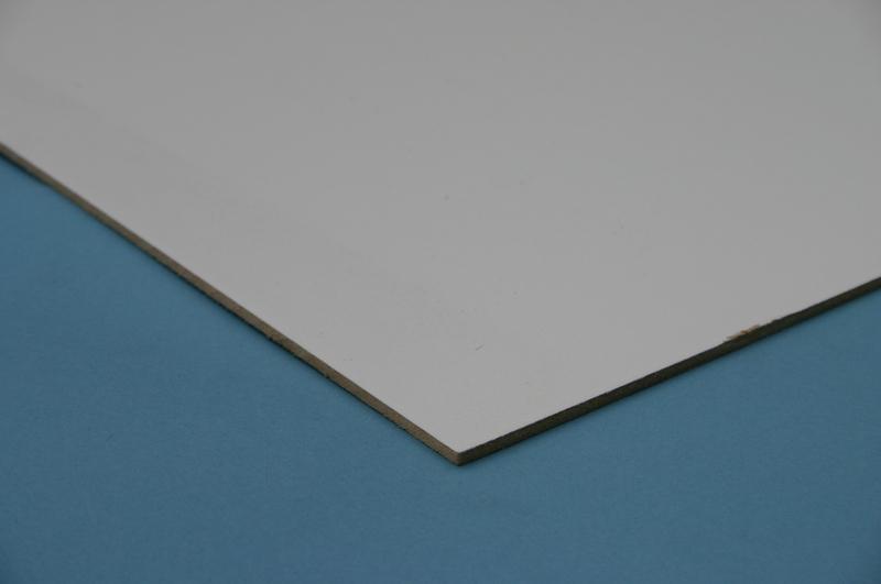 mdf hardboard 3mm white faced 2 4 x 1 2mtr goodwins