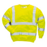 Portwest Hi-Visibility Sweatshirt Hi-Vis Yellow