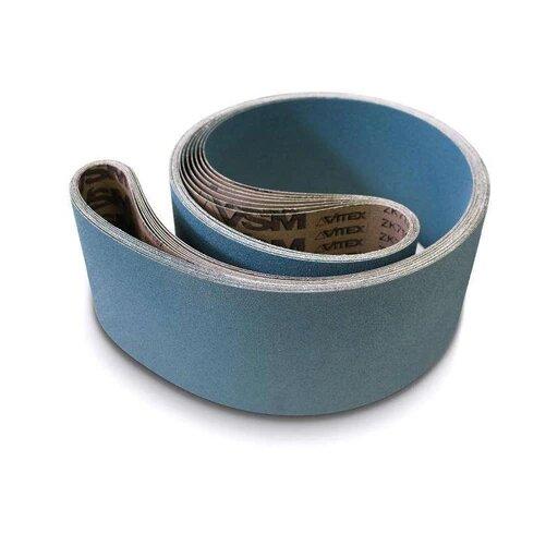 VSM ZK713X 150 x 2000 Z36 Blue Zircon Belt