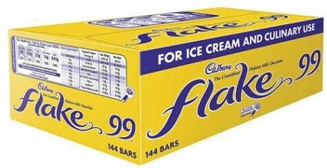 Cadbury 99 Flake bars