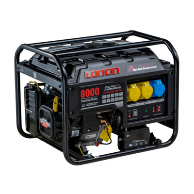 LONCIN LC8000 Petrol Generator from Daly Industrial Supply