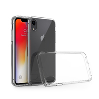CC01073 iPhone XR Clear PC with TPU Sides
