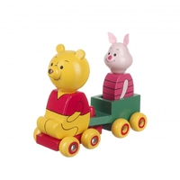 Winnie & Piglet Cart Pull Along (order in 2's)