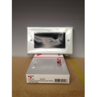 Triax White Double Module Brush Plate(304240)
