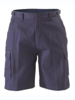 Bisley Mens Cotton 8 Pocket Cargo Shorts 310gsm
