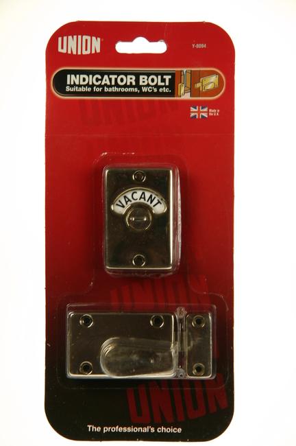 Union Bathroom Indicator Bolt Brass Y8094eb Goodwins