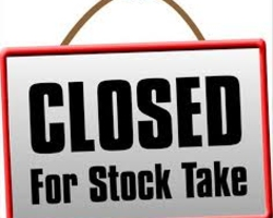 Demesne TDublin will be stock taking on Friday 14th October. Click here for opening times....