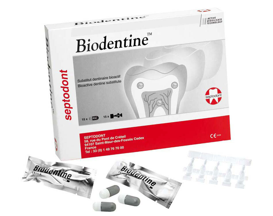 Septodont Biodentine 15 Capsules Available from DMI - Ireland's Leading Professional Dental Supplier - ROI: 01 427 3700 | NI: 028 9260 1000
