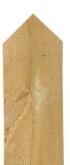 2.1m Oak Post 150x150mm Two Way Top