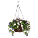 Faux Décor Petunia Hanging Easy Basket - 30cm