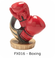 Boxing Flex Figure 75mm (Silver & Gold)