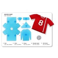 101CF010 Soccer/ sports Shirt set of 2