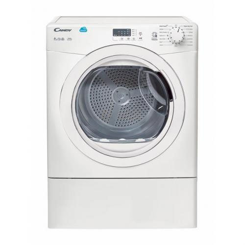Candy 9kg sensor Vented Dryer with NFC Connectivity - White