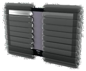 "32"" LCD Screen End Cap (Pack of 10)"