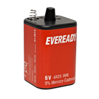 4R25E EXTRA BATTERY (EVERY READY)