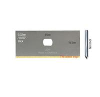 Enduro Gold Tin Mountcutter Blade 0.32mm