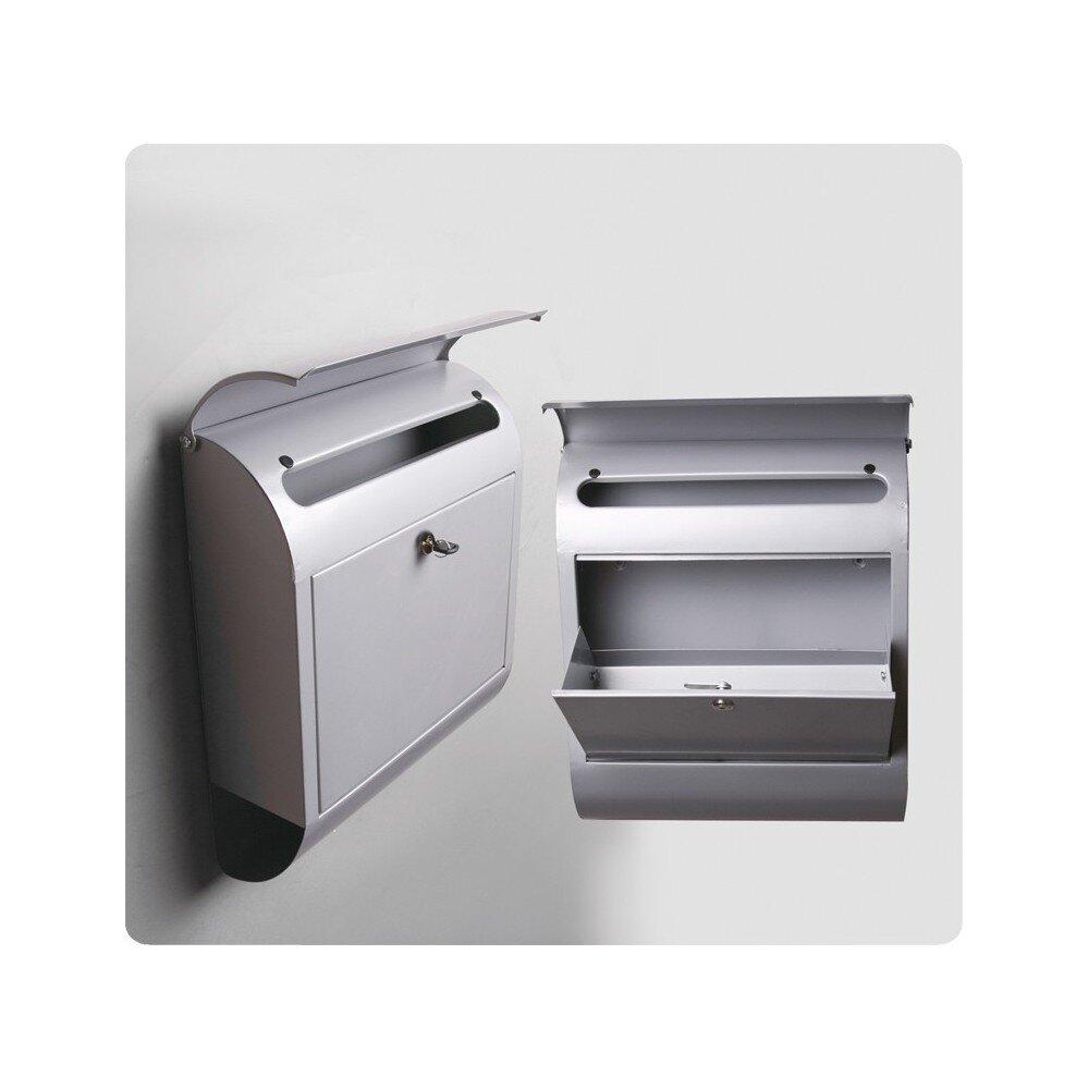 POST BOX KSX-15 STEEL MAILBOX