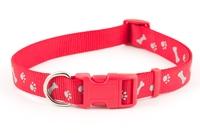 Ancol Paw'n'Bone Collar Red Large x 1