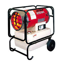 VAL6 HG125NA Infrared Diesel/Kerosene Heater