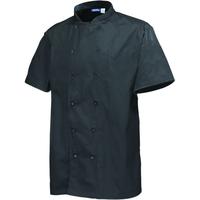 Stud Jacket Black Short Sleeve Small 91-96.5cm
