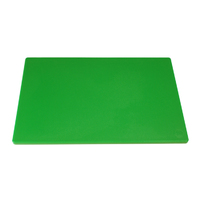 "Low Density Chopping Board 18""Lx12""Wx0.5""D Green"