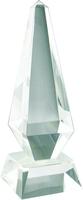23cm Crystal Pyramid Award (Satin Box)