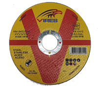 Vires S/S Cutting Disc 115mm x 1.0mm