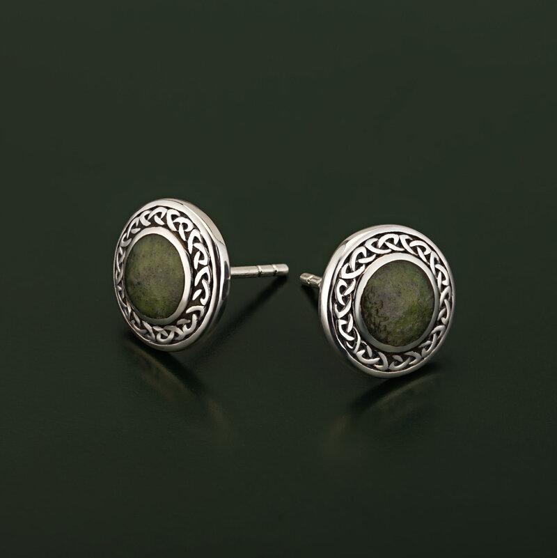 styled image of Solvar celtic earrings S33773