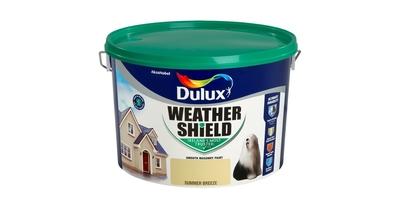 Dulux Weathershield Smooth Masonry Colour Paint 10 Litre