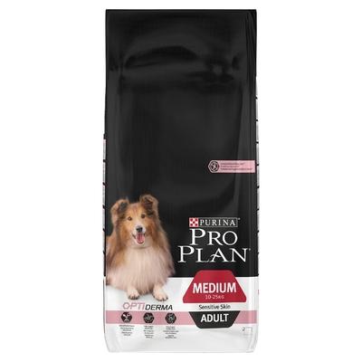 Pro Plan Medium Adult Dog Sensitive Skin - Salmon 14kg