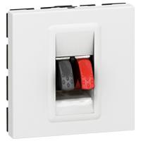 Arteor Loudspeaker Socket White  | LV0501.2451