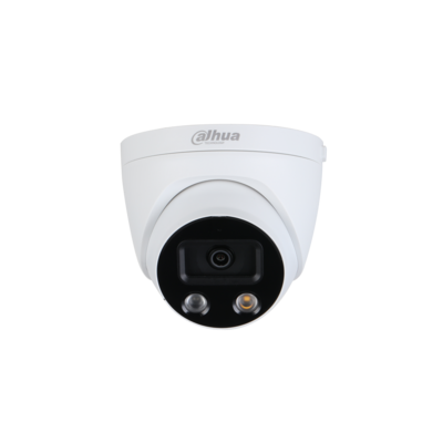 Dahua 5MP AI IP 2.8mm Fixed IR/LED Dome with built in Mic & Speaker