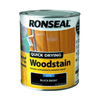 Quick Drying Woodstain 750ml Black Ebony