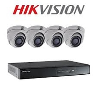 Hikvision 5MP Turbo CCTV Camera Kit