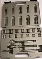 3/8inch Drive Socket Set 28Pieces 3515