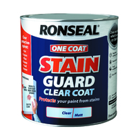 RONSEAL ONE COAT STAIN GUARD CLEAR COAT 750 ML